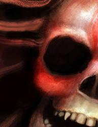 Skull by robbinblind
