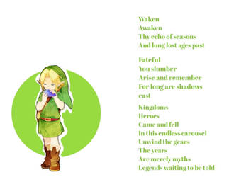 (Legend of Zelda) Song of Time - Original Lyrics by Emmierald
