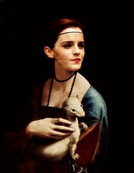 Da Vinci painting of Lady de Watson