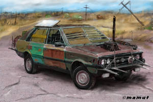 post apocalyptic car by mamut077