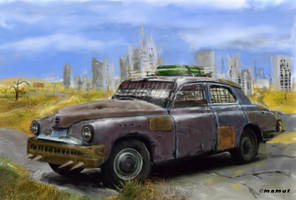 post apocalyptic car 2 by mamut077