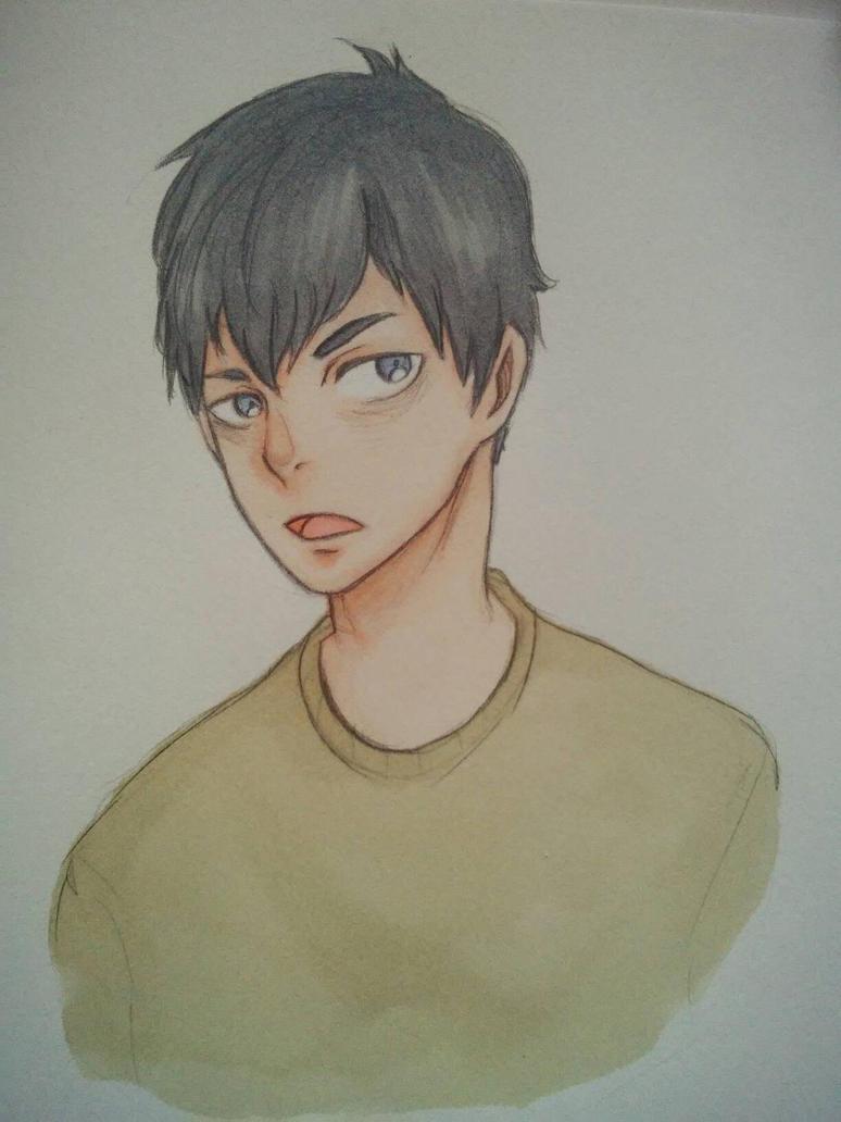 Kageyama Tobio  by GarekiART