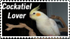 Cockatiel Lover Stamp by SLH-Photography