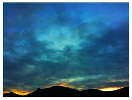 Blue Sunrise by KrazyRatLady