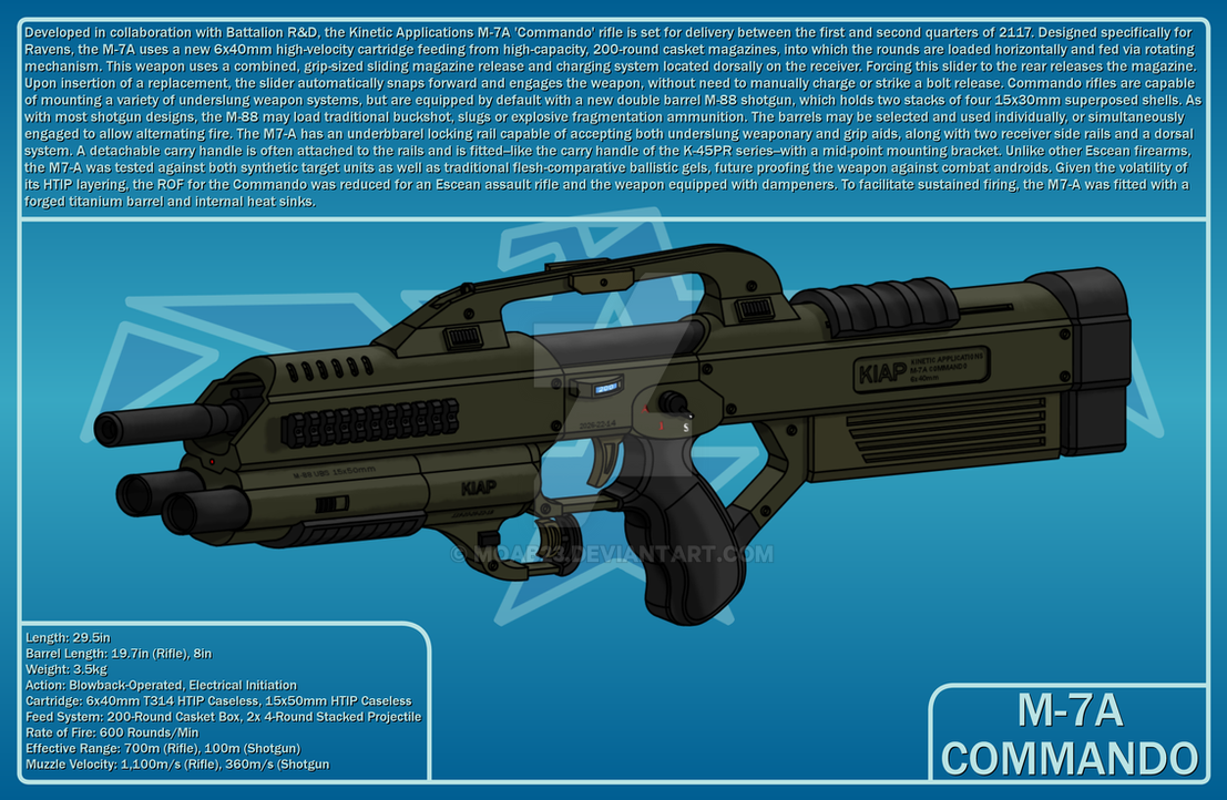 M-7A Commando by MOAB23