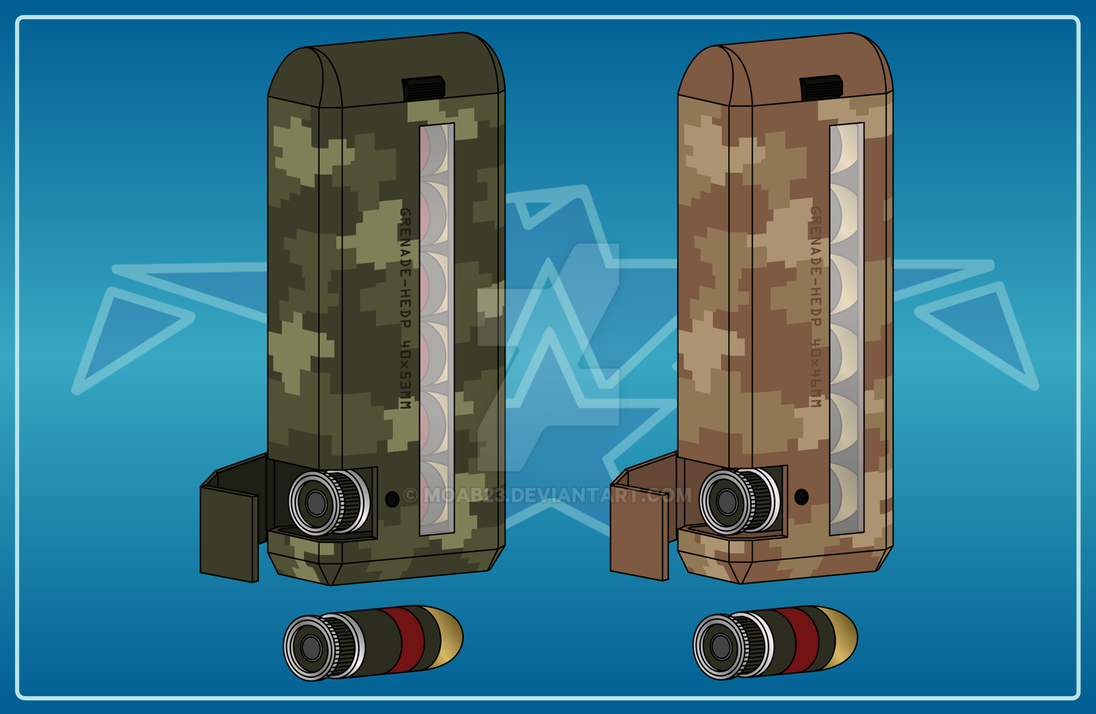 Grenade Dispenser Pack by MOAB23