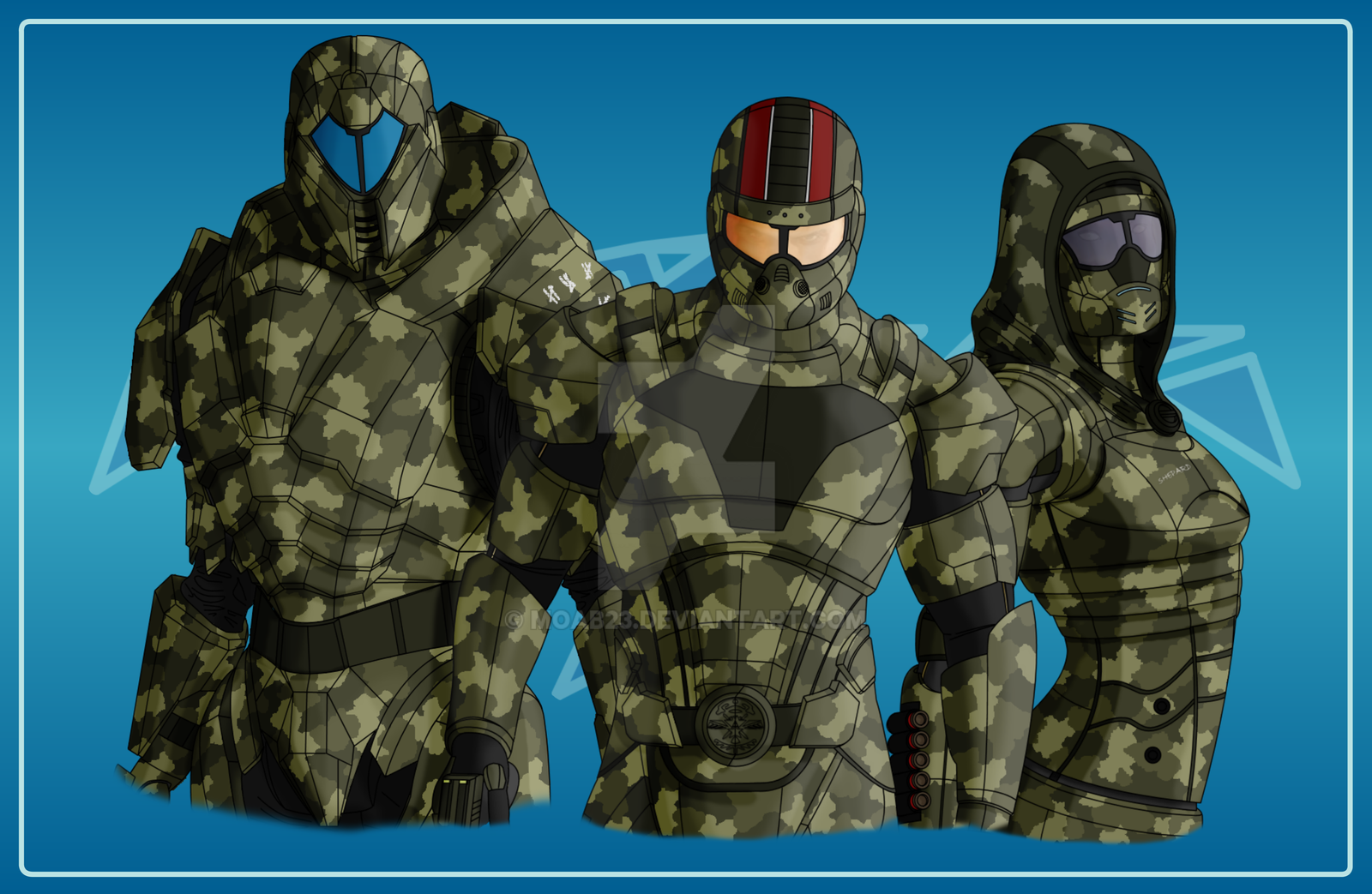 Normandy Team by MOAB23