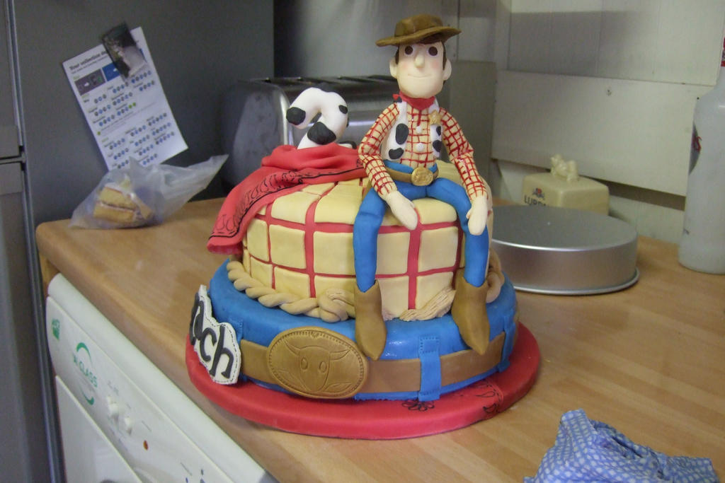 Toy Story Cake by AdaBerry