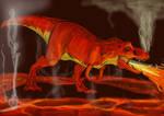 Ethereal Dino Series: Flameasaurus Rex