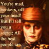 Johnny Depp as the Mad Hatter by thehumanchameleon