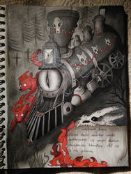 Cimiterium draco by HighSoulInHumanFlesh