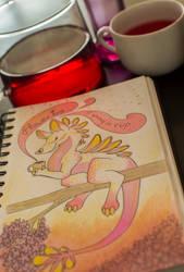 Flower tea by HighSoulInHumanFlesh