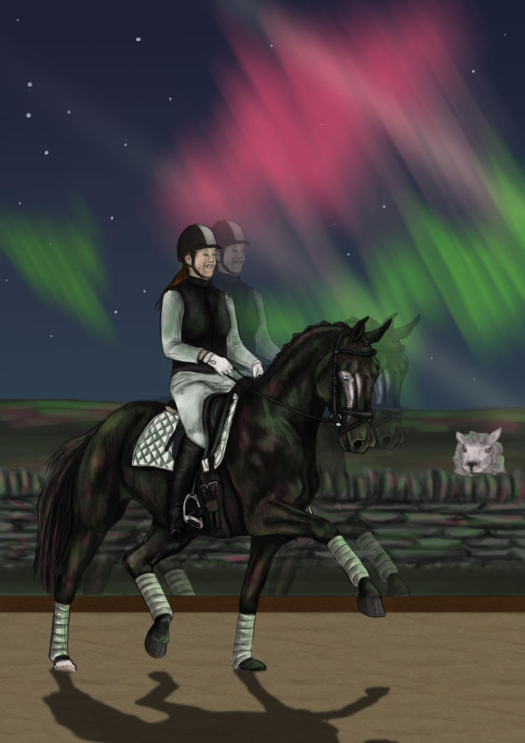 Northern Lights by OakBrookeStables
