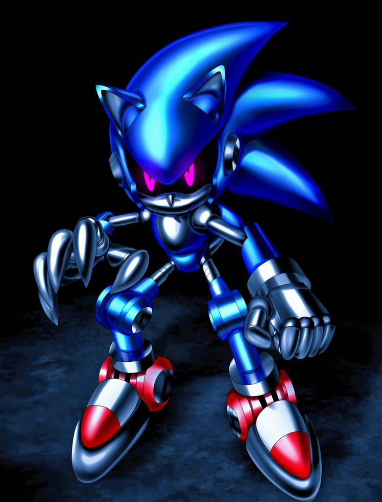 Roboticized Sonic By Rezistangs On Deviantart