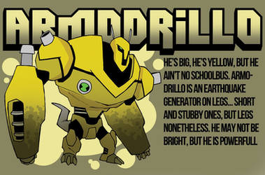 Armodrillo by MrGreenlight