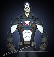 Captain America by MrGreenlight