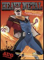 Heavy Metal Captain Dapper! by MrGreenlight