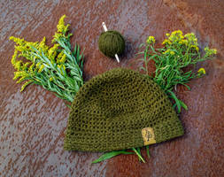 Goldenrod Dyed Nalbound Beanie by TheMattchu