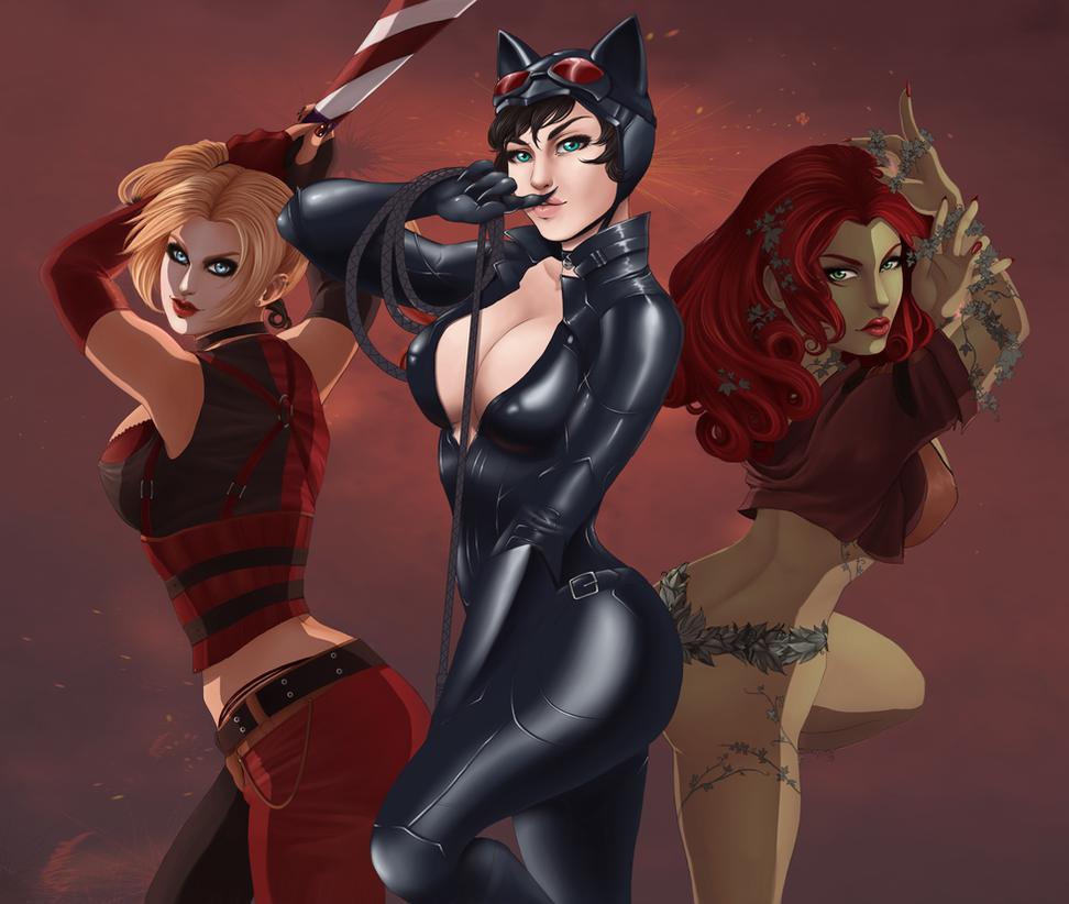 Gotham Sirens by Daluna83