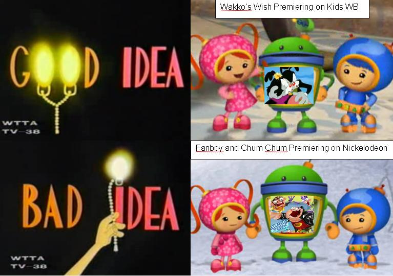 Umizoomi good idea bad idea by nelvanadzian on deviantart for Bad idee
