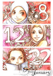 Girls from january by mpunk-sign