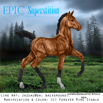 Epic Superstition- Thoroughbred Filly