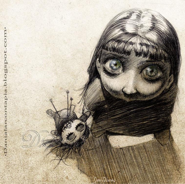 Voodoo girl by Maese