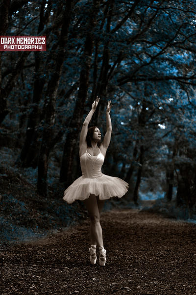 The ballerina by DarkMPhotography