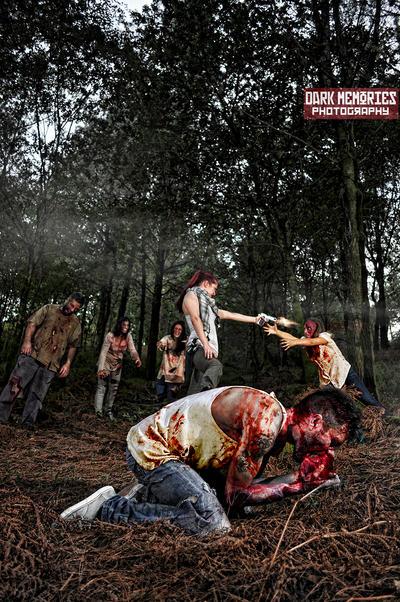 Zombiemaniacos by DarkMPhotography