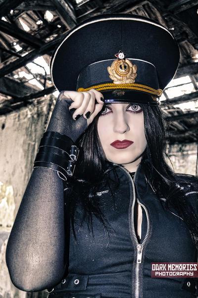 Russian girl by DarkMPhotography