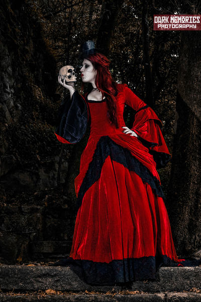 Scarlet in Wonderland by DarkMPhotography