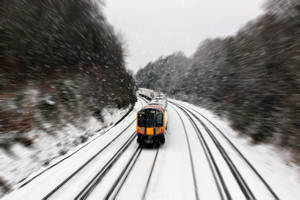 Snow train by bullispace