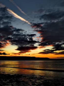Fire in a Welsh Sky