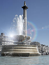 Trafalgar Square London by bullispace
