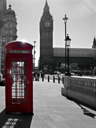 Big Ben and a red telephone box