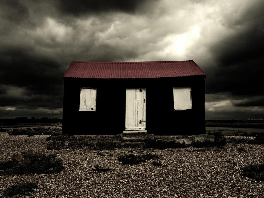 Rye net hut by bullispace