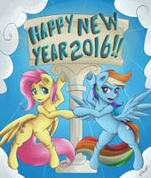 HAPPY NEW YEAR 2016!!! by MegaGibs