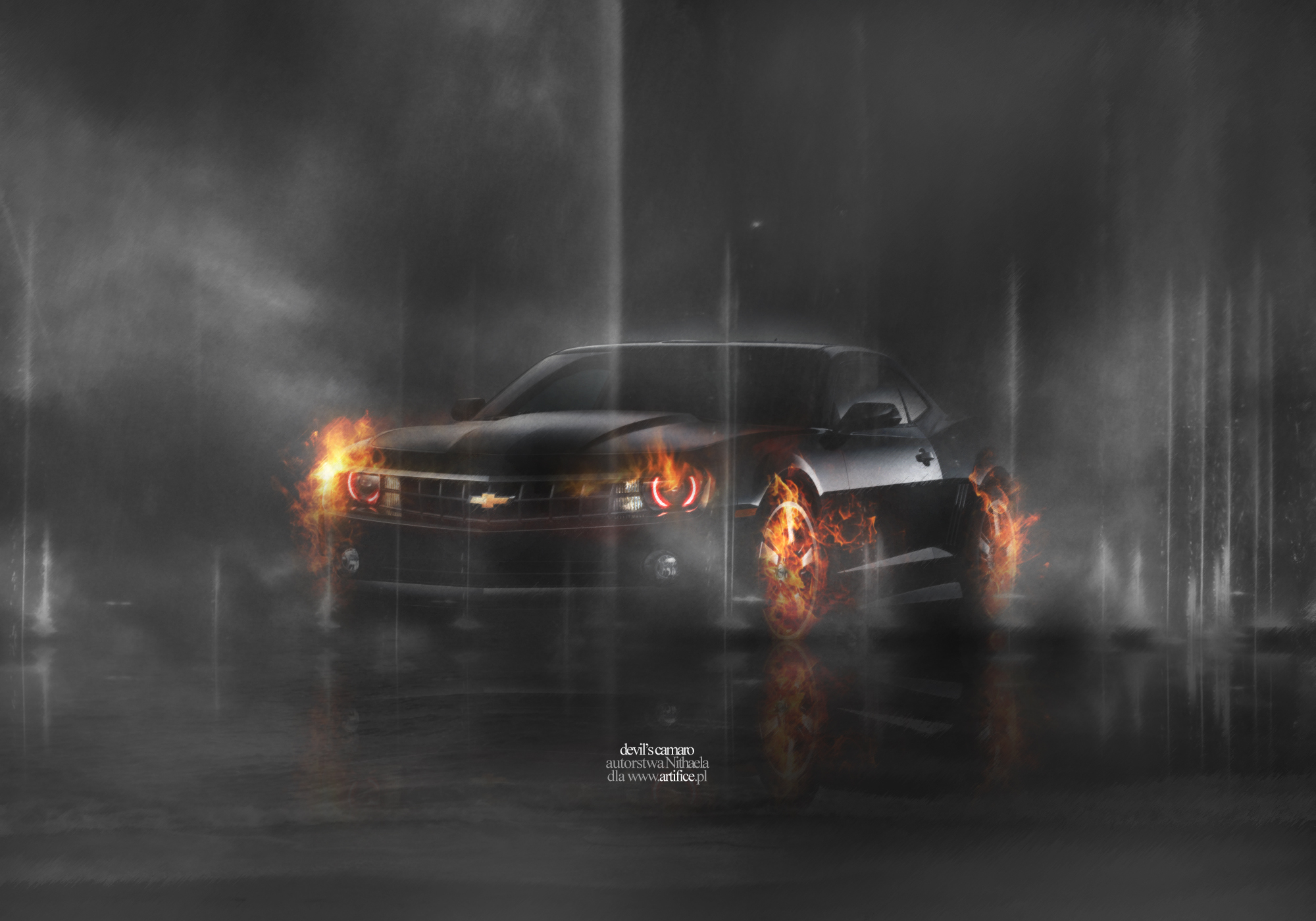 digital camaro art   camaroz28