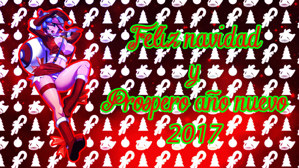 Wallpaper De Navidad Anime By Angeldevil2013 On Deviantart