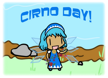 Cirno Day 2018 by kossza