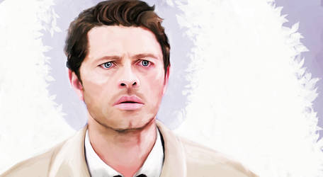 Castiel by TheWaywardDaughter