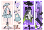 Halloween outfit Gatcha (CLOSED)