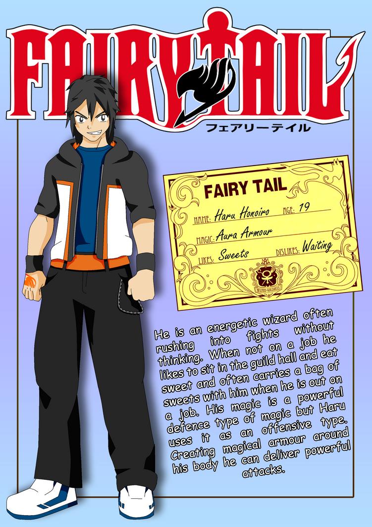Fairy Tail Oc Haru Honoiro By Matt33oc On Deviantart