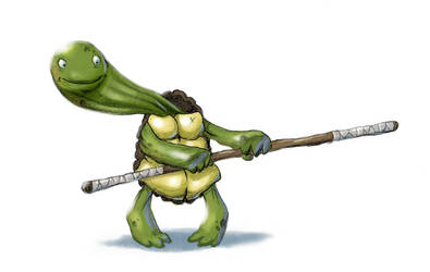 Turtle 2 by Nik-Noumenak