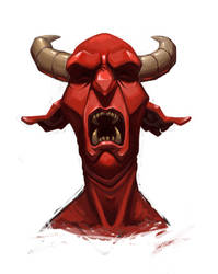 Red devil by Nik-Noumenak