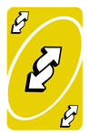 2304x3500 px Yellow Uno Reverse Card (4k)