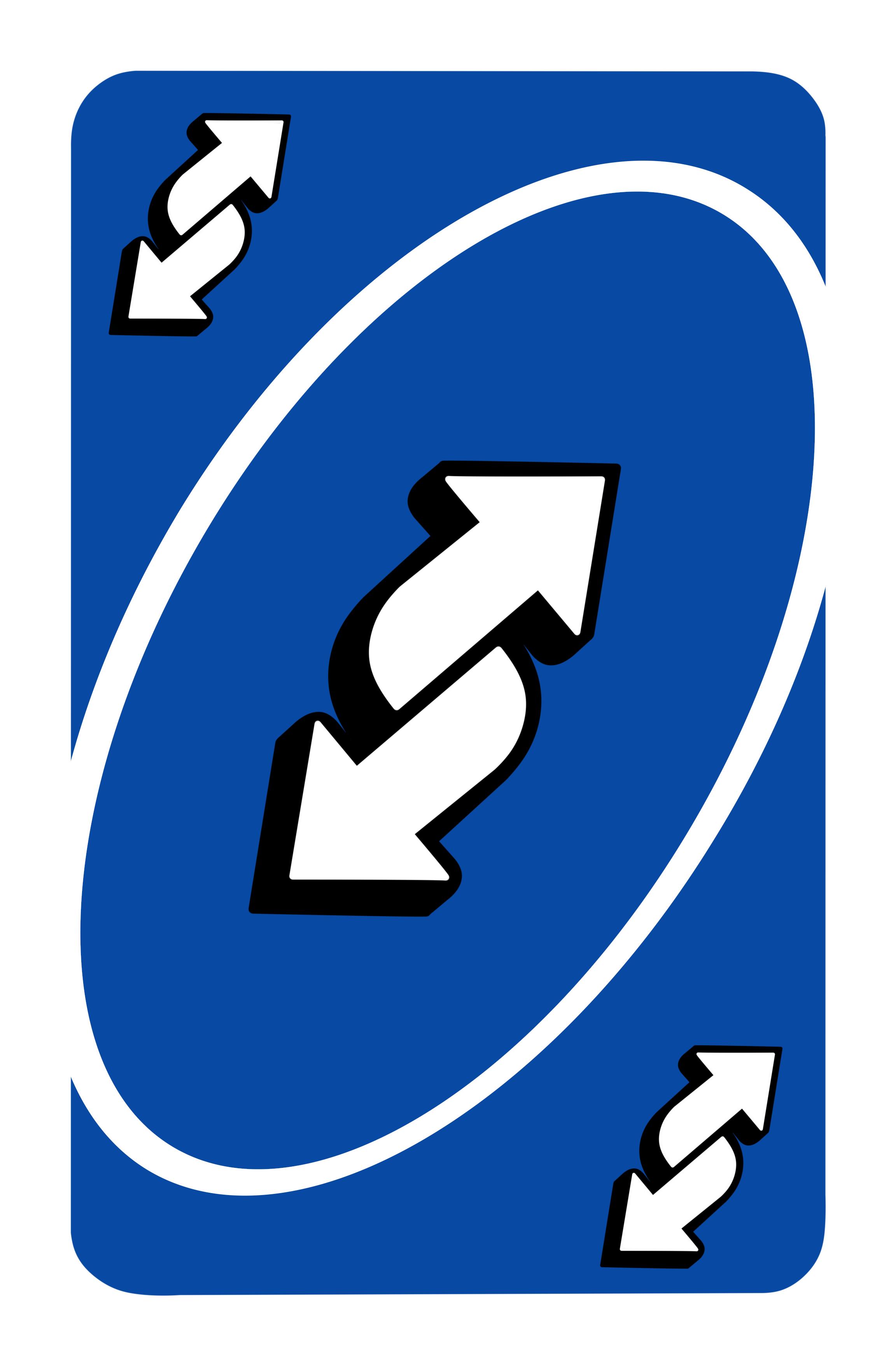 2304x3500 px Blue Uno Reverse Card (4k) by AlexceedDeSasrider on ...