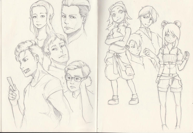 Sketches by JKLiew92