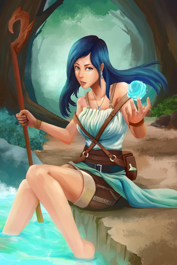 Outcast Odyssey Witch by JKLiew92