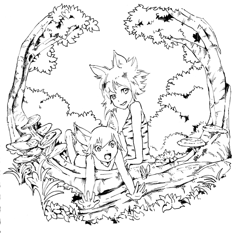 Forest Catgirl by JKLiew92